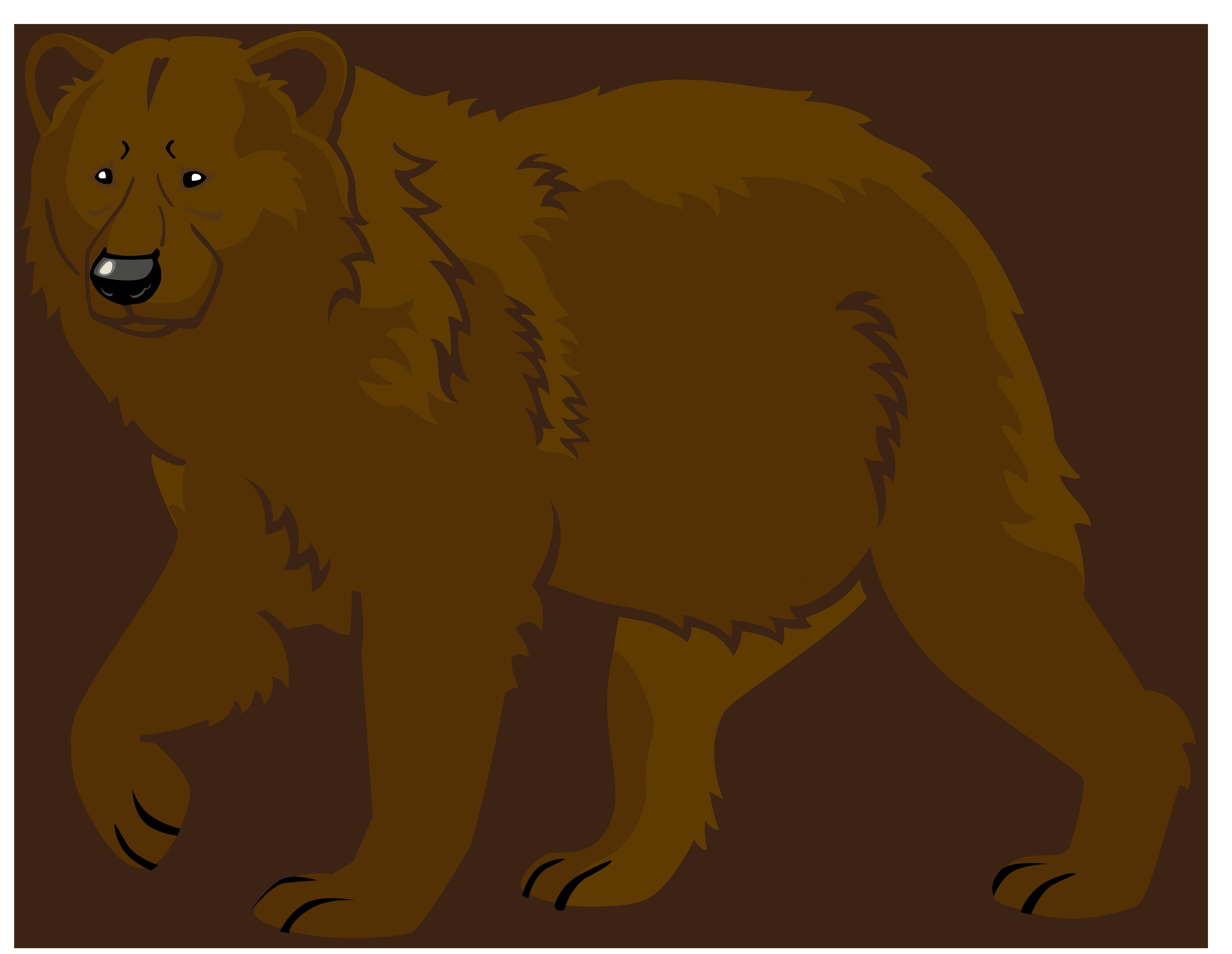 3 brown bears clipart clip library Brown bear Polar bear American black bear Giant panda - bear png ... clip library