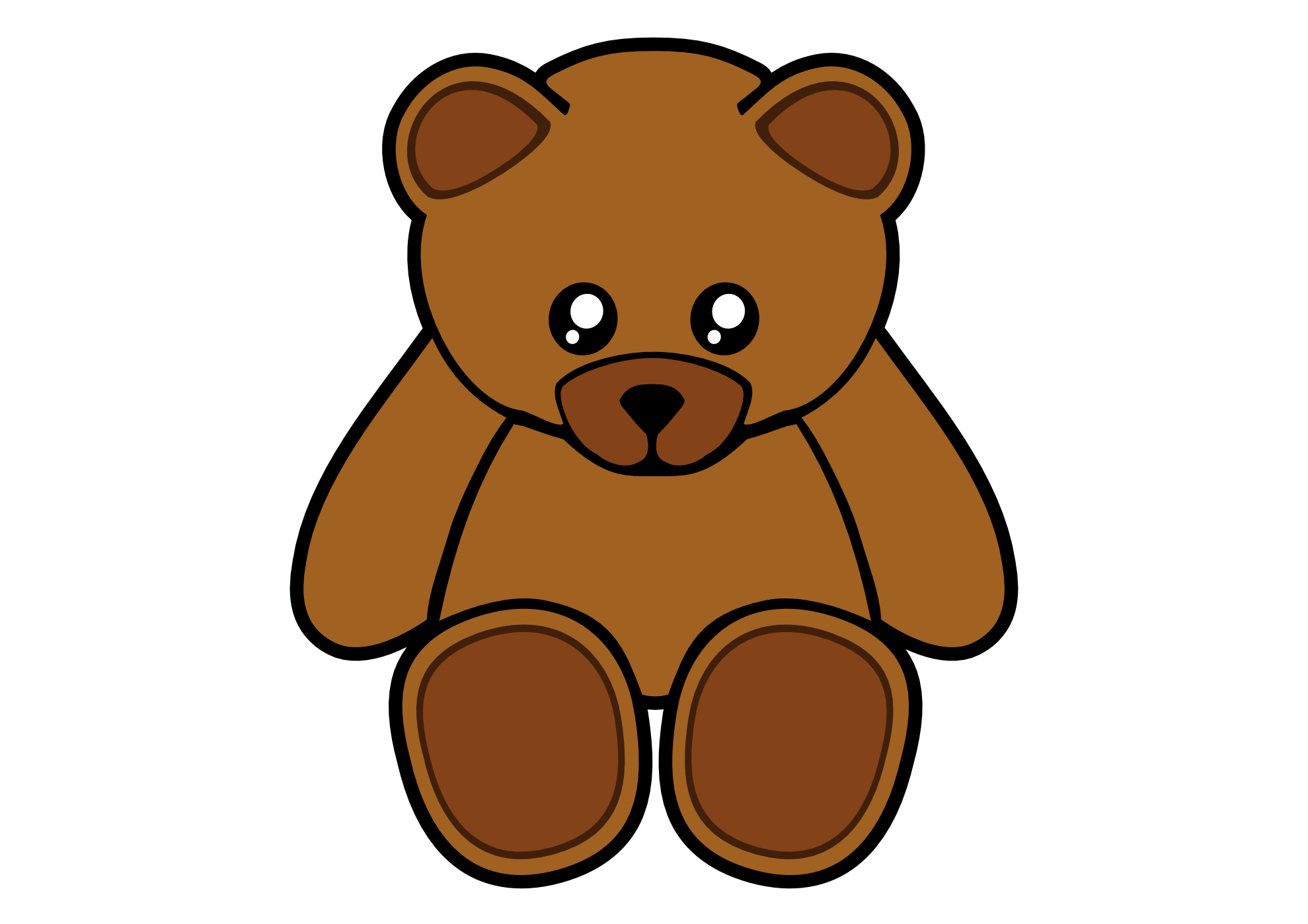 3 brown bears clipart graphic free library Bear Clipart Free | Free download best Bear Clipart Free on ... graphic free library