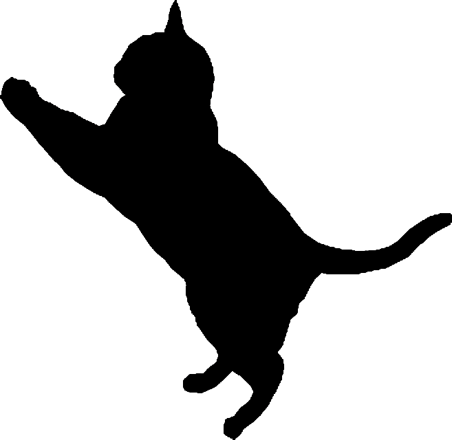 Cat Silhouette 3 by clipartcotttage on DeviantArt jpg transparent library