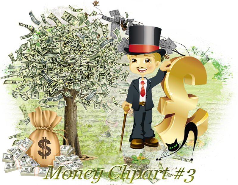 Money character clipart black and white library Design Wilds Cat: Денежный клипарт #3 Money Clipart #3 | Надо ... black and white library