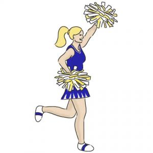 3 cheerleaders images clipart png royalty free Cheerleader cheer clipart 3 - Clip Art Library png royalty free