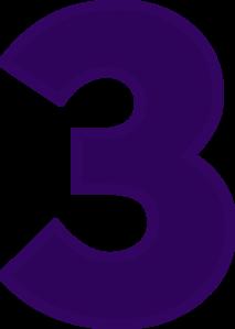 3 clipart purple png free download Clip Art 3 Clipart - Clip Art Library png free download