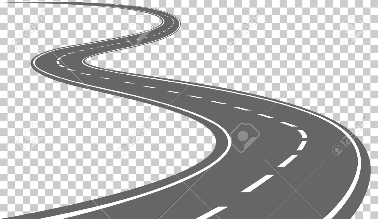3 clipart road graphic freeuse Curve road clipart 3 » Clipart Station graphic freeuse