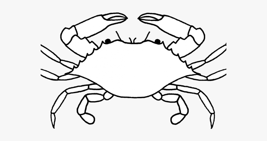 Free clipart images crab black and white jpg library library Crustacean Clipart Crab Drawing - Crab Black And White Clipart ... jpg library library