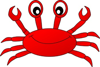 3 color crab clipart clipart library Crab Clipart clipart library