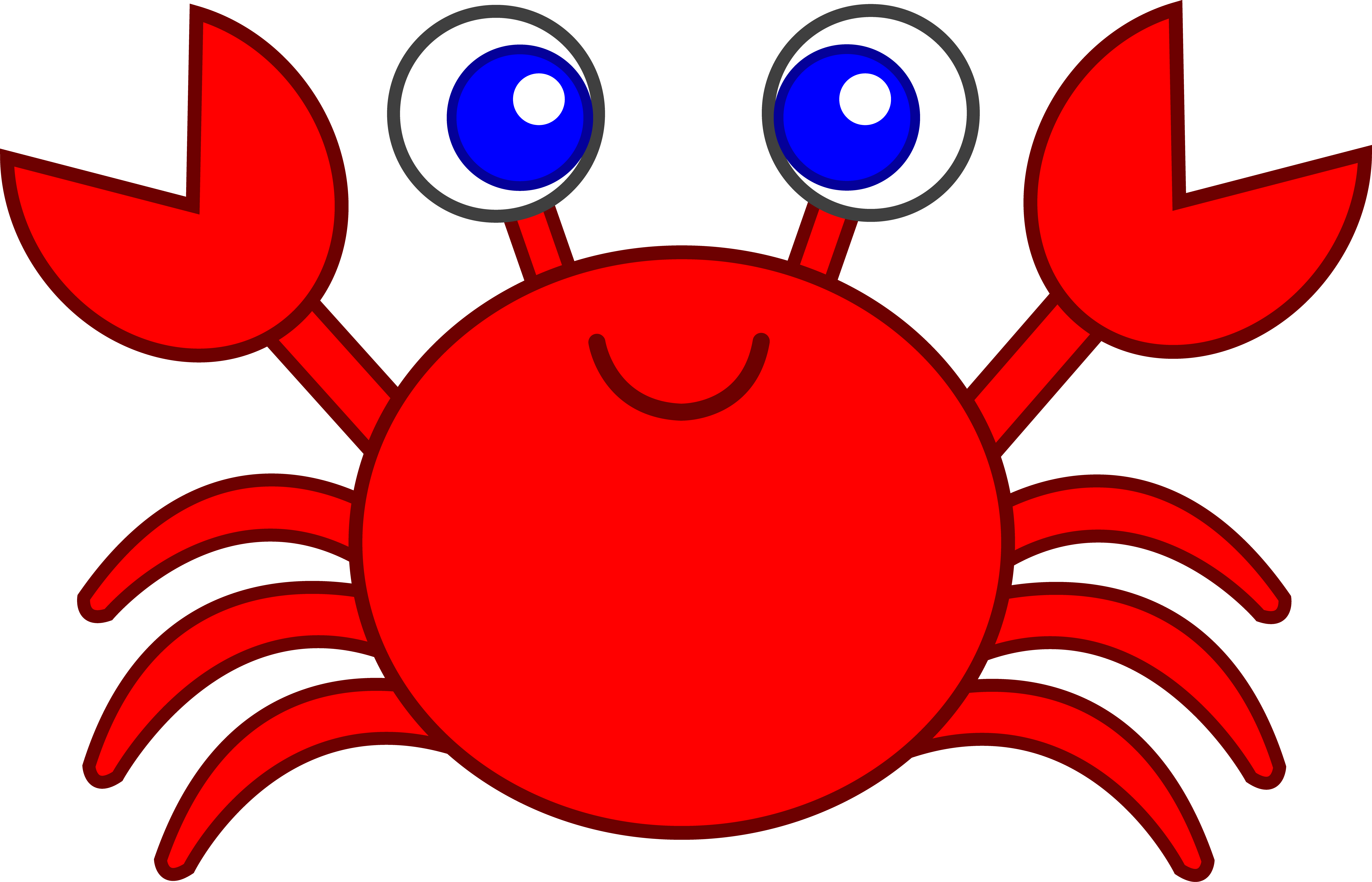 3 color crab clipart vector transparent Crab black and white crab clip art black and white free clipart ... vector transparent