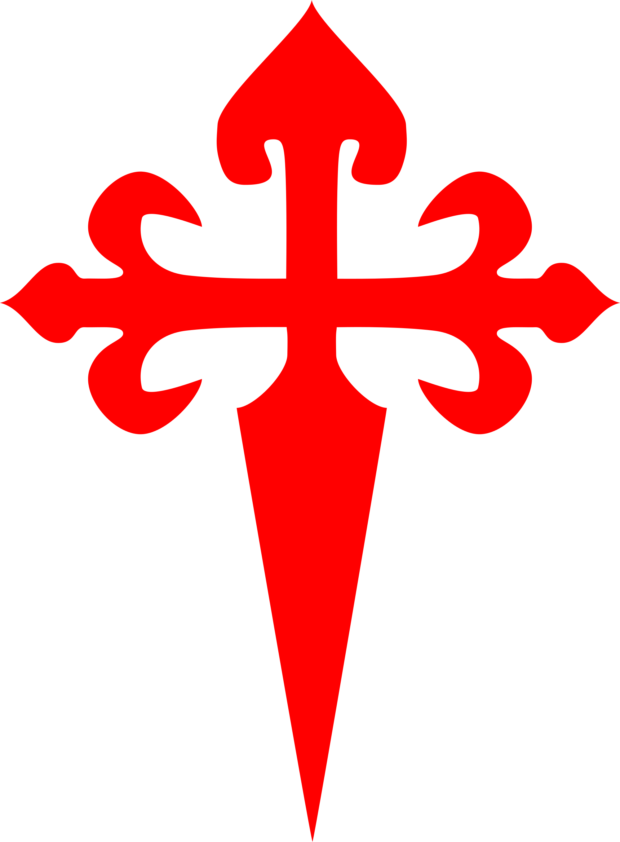 3 cross calvary clipart banner free Cross of Saint James - Wikipedia banner free