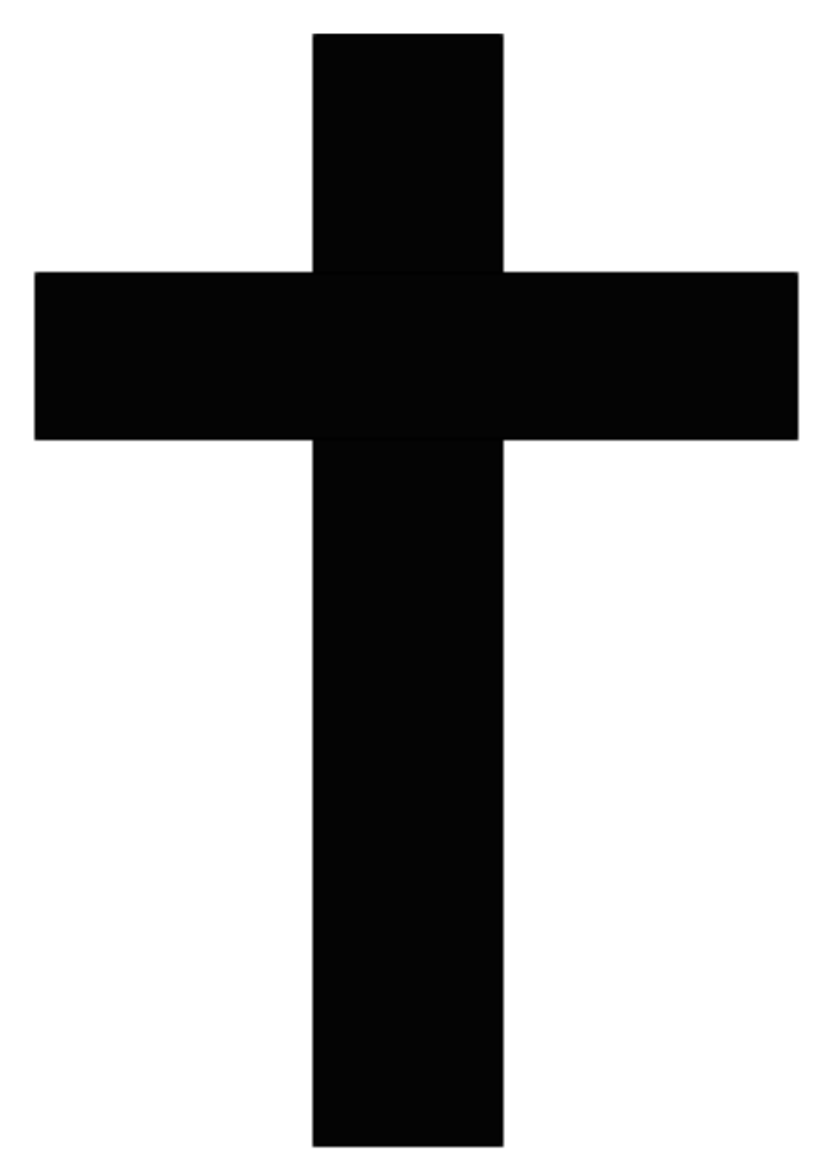 Cross with sash clipart