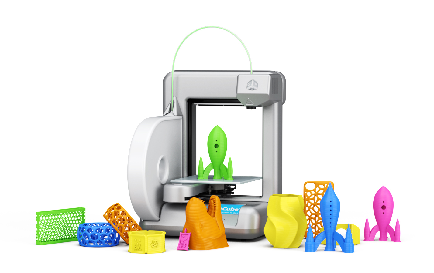 3 d printer creations clipart graphic royalty free Cube 3d Printer | In Tech We LoveIn Tech We Love graphic royalty free
