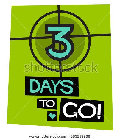 3 day countdown clipart banner stock 3 Days Go Flat Style Vector Stock Vector 583219957 - Shutterstock banner stock