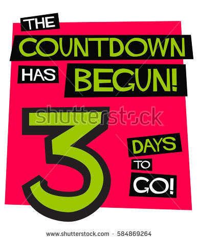 3 day countdown clipart clip art download 3 Days Go Flat Style Vector Stock Vector 583219957 - Shutterstock clip art download