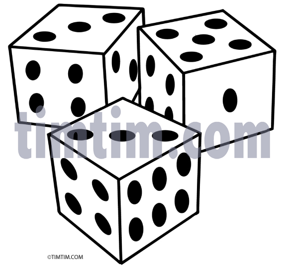 3 dice bunco clipart clipart Three Dice | Free download best Three Dice on ClipArtMag.com clipart