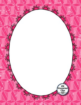 3 distressed ovals clipart graphic Distressed Papers, Doodle Frames (Oval, Rectangle) & Page Dividers graphic