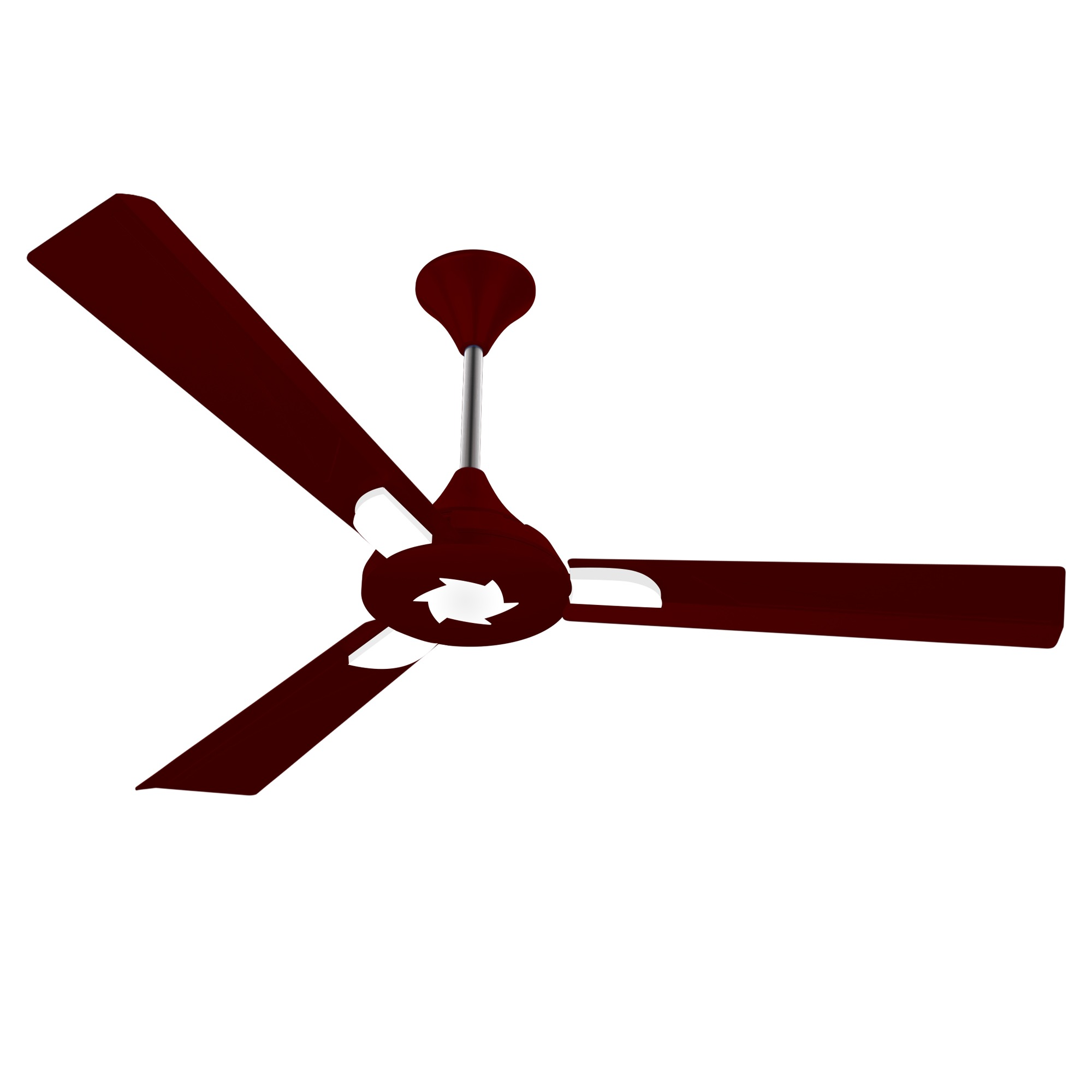 "3 fan blades clipart clip library download Conion Ceiling Fan Sigma 56"" 3 Blades (Brilliant Maroon) clip library download"