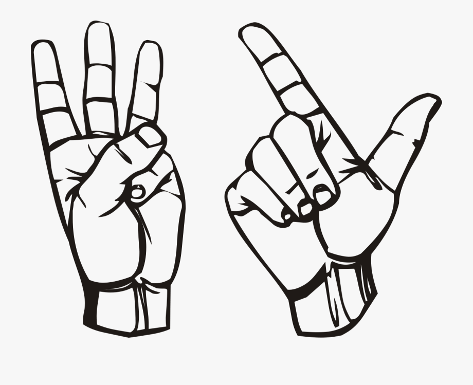 3 fingers on hand clipart png Drawing Cut S Name Hand - Hand Holding Up 3 Fingers #524580 - Free ... png