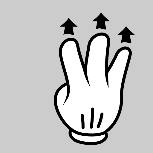 3 fingers up clipart png free download Multitouch Interface Mouse Theme 3 Fingers Drag Up Clipart ... png free download