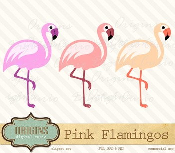 3 flamingos clipart black and white stock Pink Flamingos Clipart black and white stock