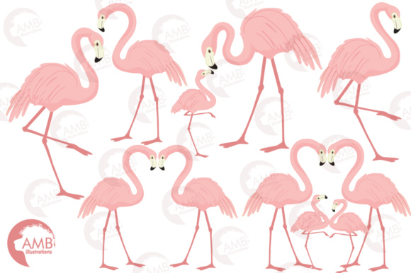 3 flamingos clipart graphic library library Flamingos Clipart graphic library library