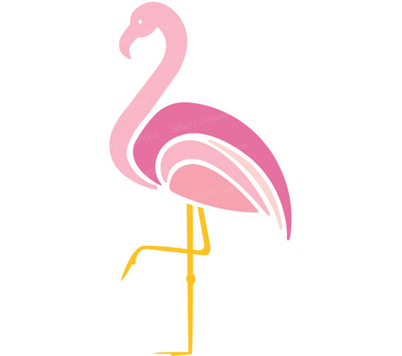 Pink flamingo clipart free png black and white download Free Flamingo Clipart, Download Free Clip Art, Free Clip Art on ... png black and white download