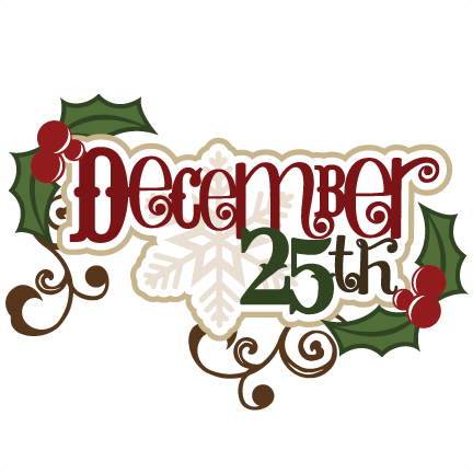 3 for 25 clipart clip black and white December clipart 3 - Cliparting.com clip black and white