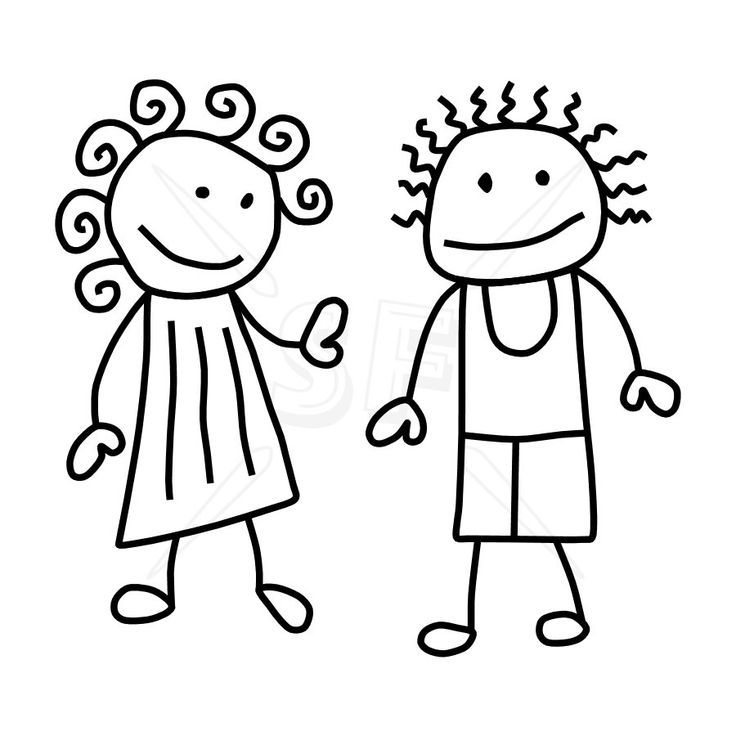 3 guys 1 girl clipart black and white png transparent download Clipart transparent download family 3 girls 1 boy png files, Free ... png transparent download