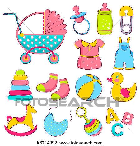 Baby items clipart images 3 » Clipart Portal banner