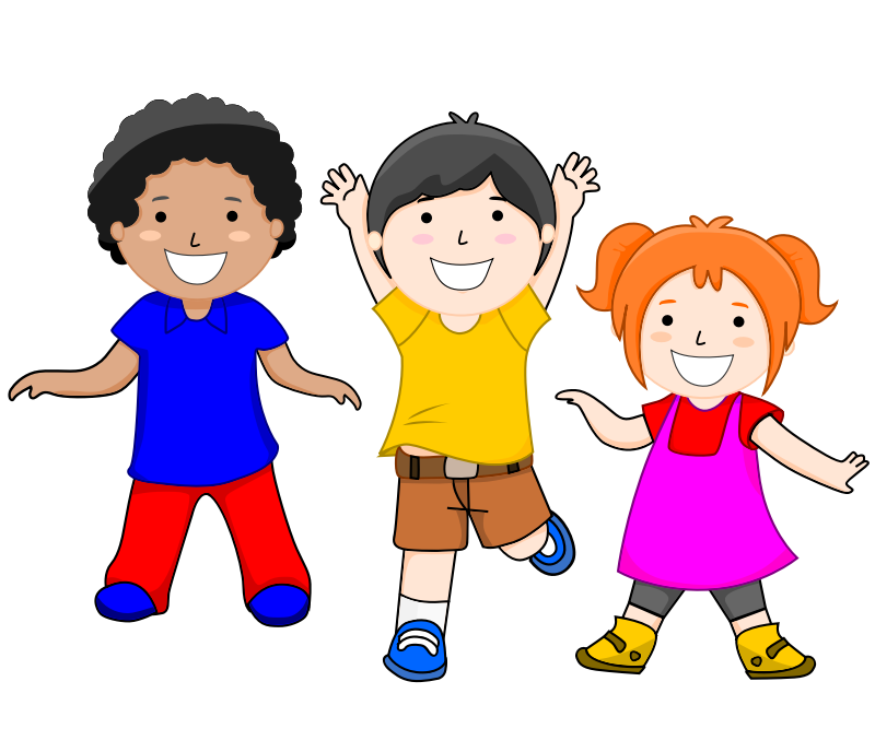 Excited people clipart vector freeuse 3 kids clipart clipart images gallery for free download | MyReal ... vector freeuse