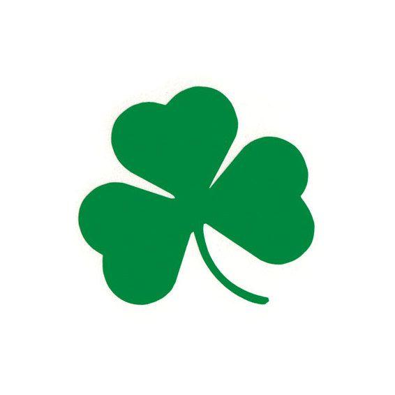 Three leaf clover meaning clipart clip art royalty free download Shamrock - Irish/Celtic/3 Leaf Clover - Car/Truck/Laptop/Computer ... clip art royalty free download