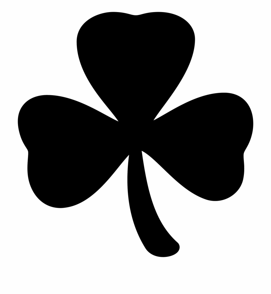 3leaf clovers clipart banner black and white library Trend White Four Leaf Clover Png, Picture - Three Leaf Clover ... banner black and white library