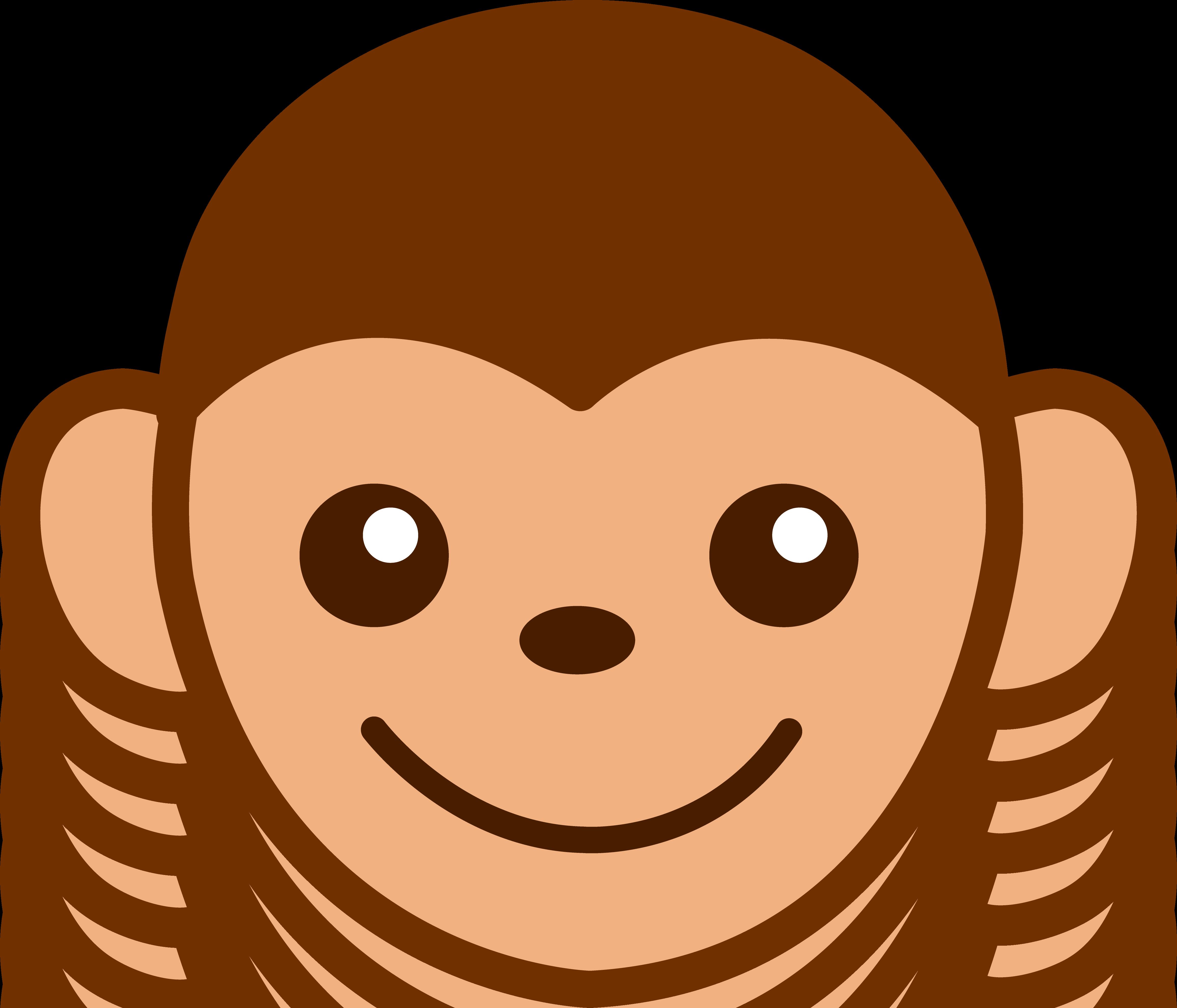 3 monkeys clipart faces vector royalty free library Free Cute Monkey Clipart, Download Free Clip Art, Free Clip Art on ... vector royalty free library
