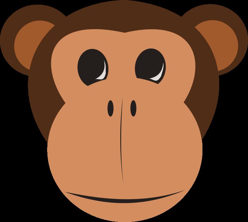 3 monkeys clipart faces clip art transparent library Free clip art \