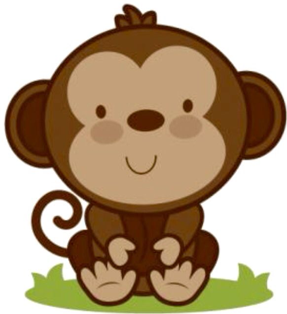 3 monkeys clipart faces picture transparent stock Cute face! | MONKEYS!!! | Clip art, Baby animals, Cute clipart picture transparent stock