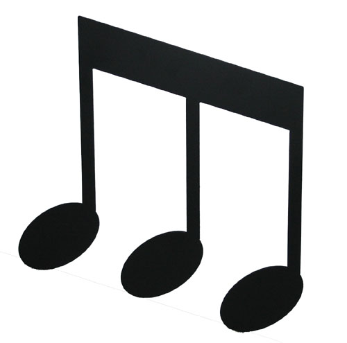 3 music notes clipart svg library Free Image Of A Music Note, Download Free Clip Art, Free Clip Art on ... svg library