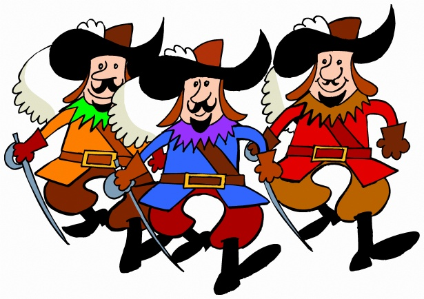 Musketeer clipart png free library Three Musketeers Free Stock Photo - Public Domain Pictures png free library