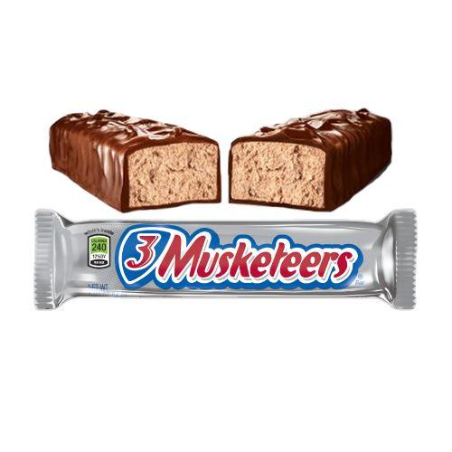 3 Musketeers Candy Bar 1.92 oz. picture royalty free download