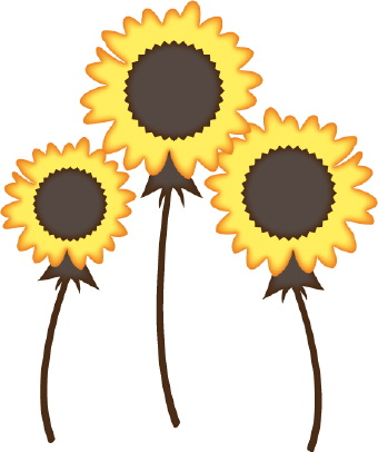 3 object clipart transparent stock Free sunflower clipart flower clip art images and 3 - ClipartBarn transparent stock