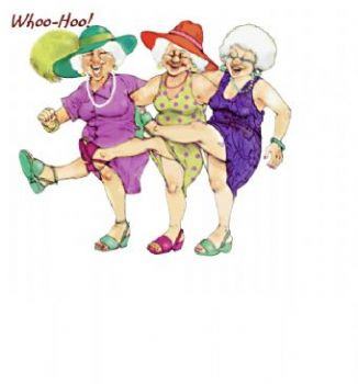 3 old sisters clipart free library Three Elderly Sisters free library