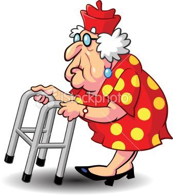Old woman enjoying life clipart svg transparent old people and their walkers - Google Search | CLIPART VARIOUS | Old ... svg transparent