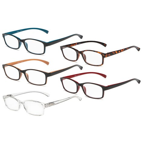 Buy Reading Glasses Online at Overstock | Our Best Eyeglasses Deals clip art black and white stock