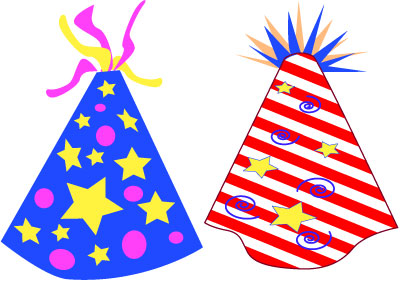 3 party hat clipart picture royalty free stock Birthday hat clipart 3 - ClipartBarn picture royalty free stock