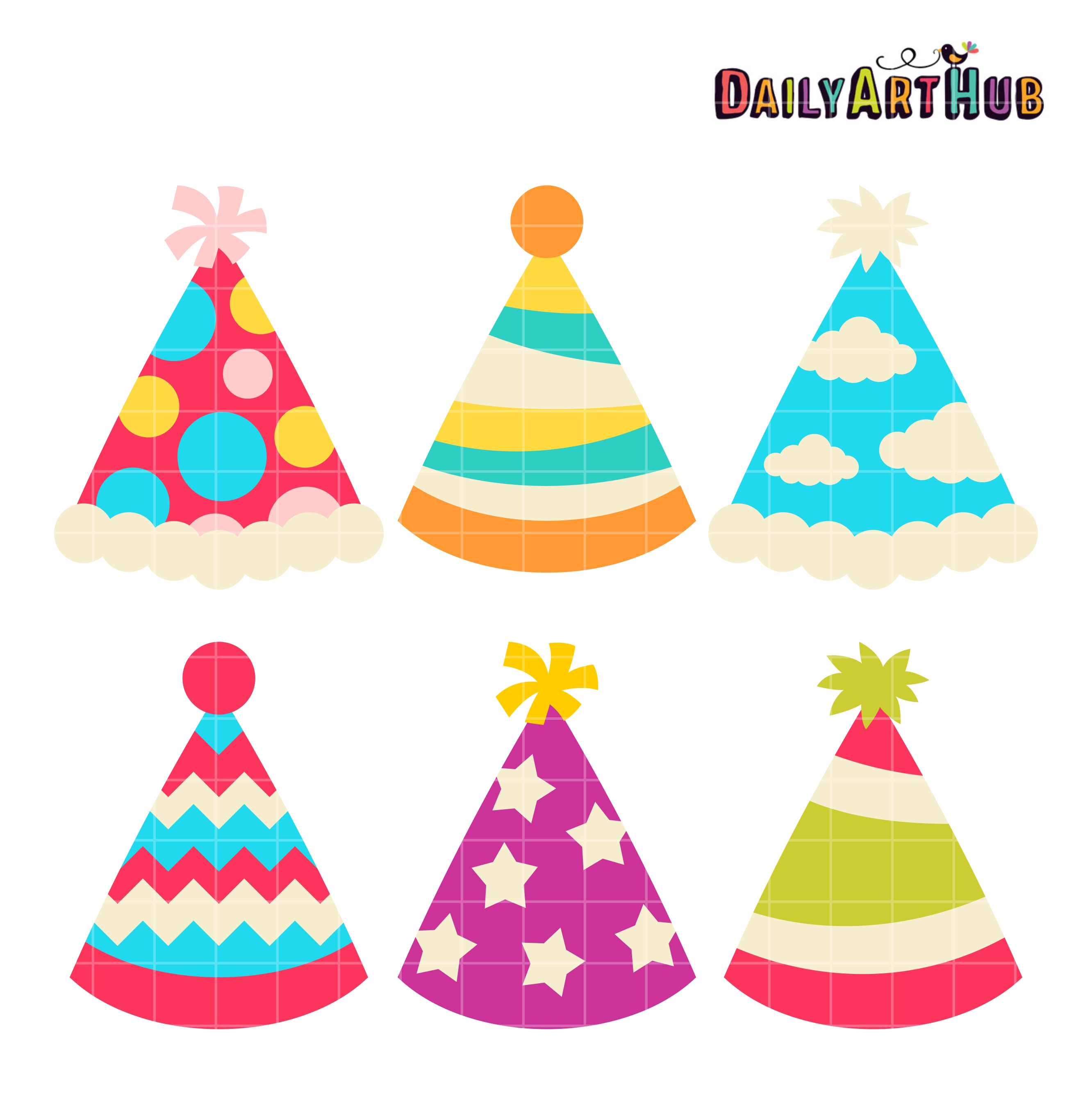 3 party hat clipart banner freeuse stock Party hats clipart 3 » Clipart Station banner freeuse stock