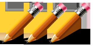 3 pencils clipart clip freeuse 3 pencils clipart 2 » Clipart Portal clip freeuse