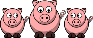 3 pigs clipart clip download 3 Pigs Clip Art at Clker.com - vector clip art online, royalty free ... clip download