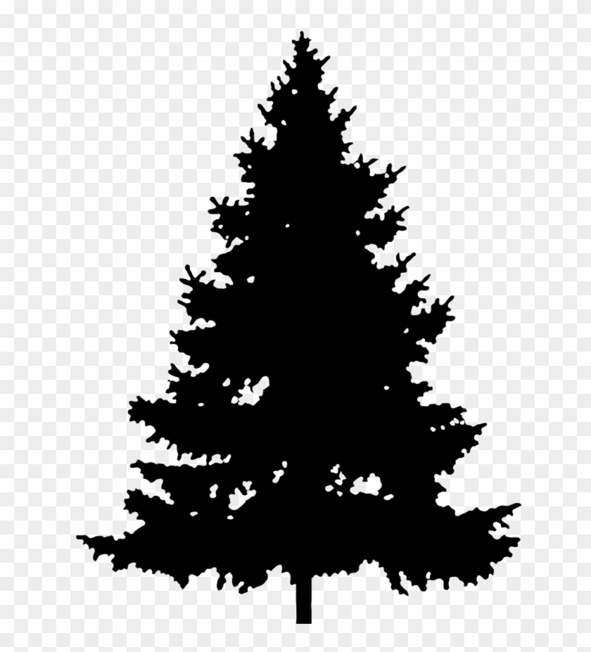 3 pinetree clipart graphic library download Christmas Tree Silhouette Png - Silhouette Pine Tree Clipart ... graphic library download