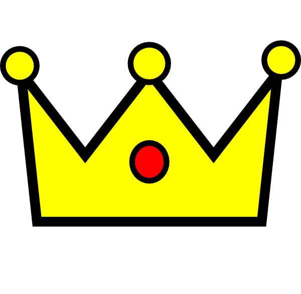 Crown hd clipart 4 points banner download Glock Crown Clip Art at Clker.com - vector clip art online, royalty ... banner download
