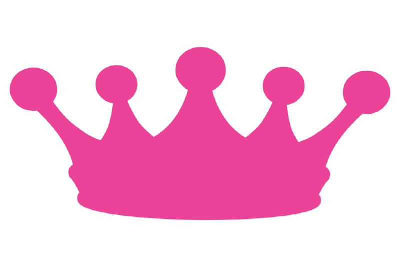 The top best blogs. Crown clipart purple