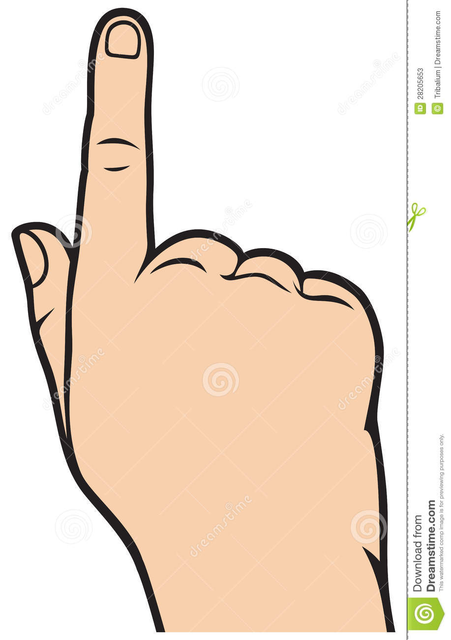 Pointer finger clipart 3 » Clipart Station image library library