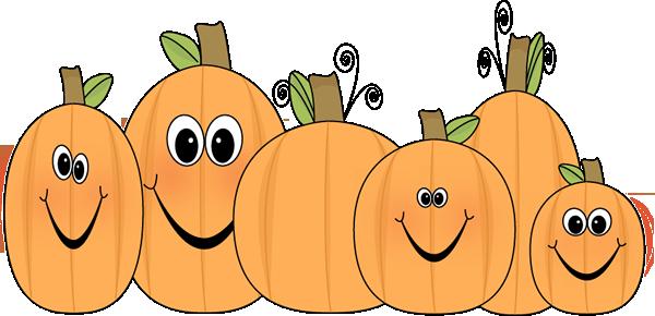 3 pumpkins clipart graphic transparent download Cute Pumpkin Clip Art | Pumpkin Patch Clip Art Image - patch of ... graphic transparent download