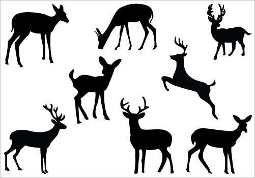 Reindeer Clipart Black And White | Free download best Reindeer ... svg black and white