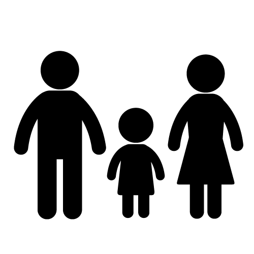 3 siblings clipart svg black and white stock Free Three Family Cliparts, Download Free Clip Art, Free Clip Art on ... svg black and white stock